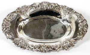 R WALLACE  SONS STERLING BOWL EARLY 20TH C