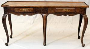 BAKER FURNITURE CO FRENCH STYLE CONSOLE