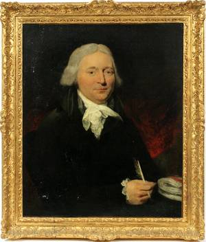 ENGLISH OIL ON CANVAS C 1800 PORTRAIT OF A MAN