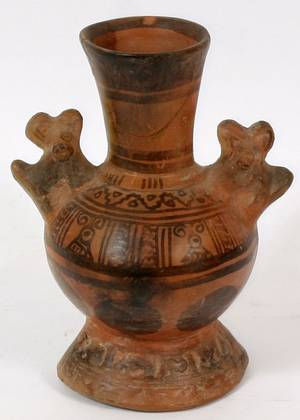 GREEK ATHENIAN GEOMETRIC STYLE POTTERY VESSEL