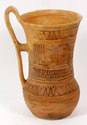 GREEK ATHENIAN GEOMETRIC STYLE POTTERY VESSEL