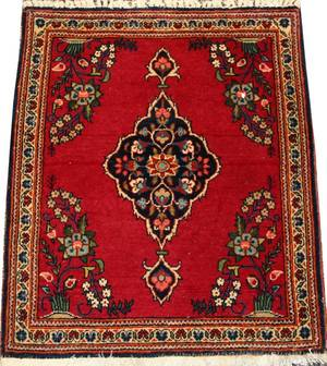 ANTIQUE PERSIAN KASHAN RUG C 1930