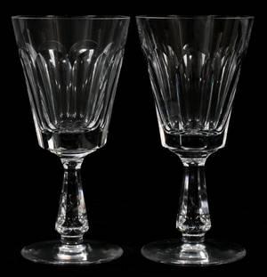 WATERFORD GLENCREE PATTERN CRYSTAL WINE GLASSES