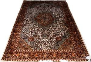 PAKISTAN HAND WOVEN RUG W 6 L 89