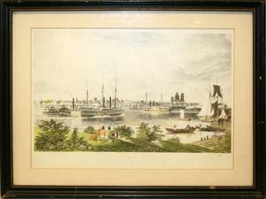 WI BENNET COLOR LITHOGRAPH CITY OF DETROIT