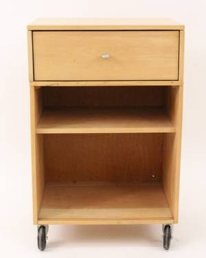 Paul McCobb Rolling Chest or Cabinet