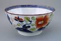Gaudy Dutch waste bowl