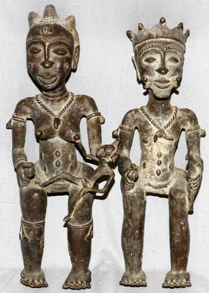 bronzing the benin royalty Cameroon bronze twin leopards captive and tamed were heavily associated with royalty in to the famous benin bronzes whose earliest pieces date from.
