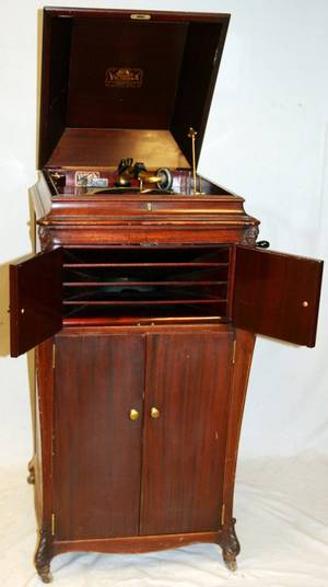 VICTOR TALKING MACHINE C1920 VVXVI  75584 E