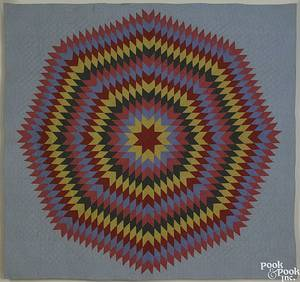 Pennsylvania Star of Bethlehem quilt late 19th c