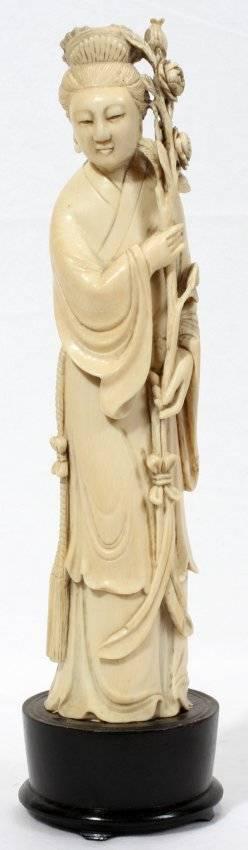 041256 CHINESE IVORY QUAN YIN 10