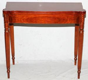 CHERRY FLIPTOP CARD TABLE