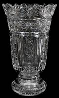 041308 WATERFORD CRYSTAL ANNIVERSARY VASE 1997 13