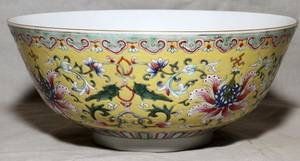 032216 CHINESE FAMILLE ROSE PORCELAIN BOWL