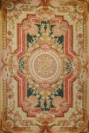 060251 FRENCH AUBUSSON NEEDLEPOINT CARPET