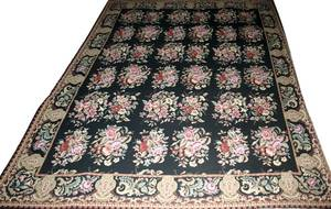 060249 FRENCH AUBUSSON NEEDLEPOINT RUG