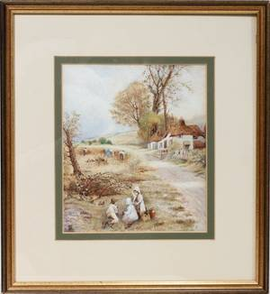 042254 FOSTER MYLES BIRKET WATERCOLORPAPER CHILDREN