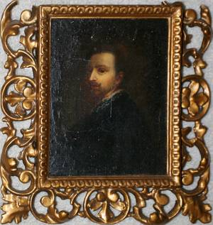 040235 AFTER VAN DYCK OIL PAINTING BY C FOSFI