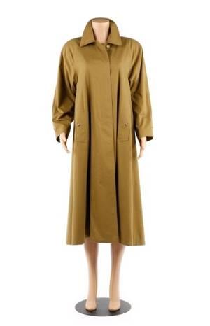 Burberry Prorsum Ladies Beltless Swing Trench Coat