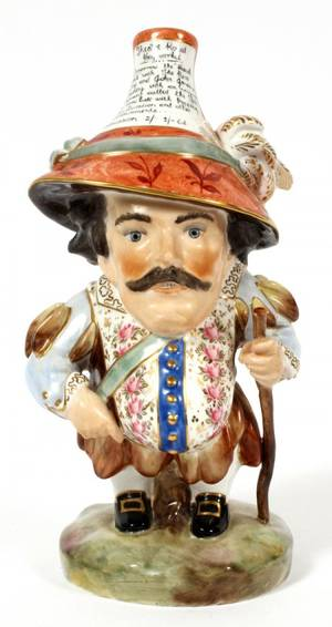 ROYAL CROWN DERBY PORCELAIN FIGURE OF DWARF
