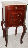 032464 FRENCH NIGHT STAND LATE 19TH C H 35