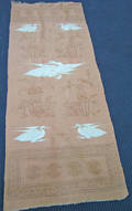 Pair of Chinese flatweave long rugs