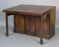 George III mahogany architects table late 18th c