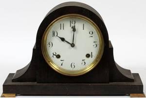 SESSIONS MAHOGANY MANTLE CLOCK