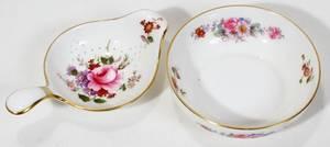 061564 ROYAL CROWN DERBY PORCELAIN TEA STRAINER  DISH