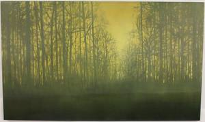 Elizabeth Stockton Forest View Oil on Canvas