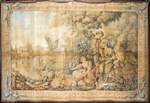 041060 CONTINENTAL MACHINEWOVEN TAPESTRY 75 X 110