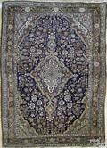 Sarouk throw rug ca 1930