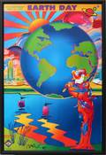 110076 PETER MAX 25TH ANNIVERSARY EARTH DAY POSTER