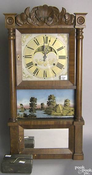 Connecticut Empire mantle clock