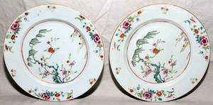 072322 CHINESE EXPORT PORCELAIN PLATES C 1780