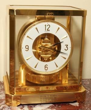 091386 JAEGERLECOULTRE ATMOS CLOCK H 9 W 8 12