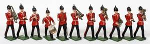 120386 BRITAINS LEAD TOY SOLDIER BAND OF THE LINE