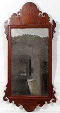 102322 CHIPPENDALE WALL MIRROR H 47 L 23