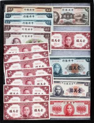 110400 CHINA CENTRAL BANK 10000YUAN NOTES ETC