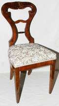 062428 GERMAN BIEDERMEIER SIDE CHAIR C 1870