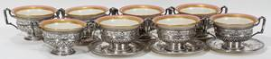 101002 INT MARIE ANTOINETTE STERLING CREAM SOUPS