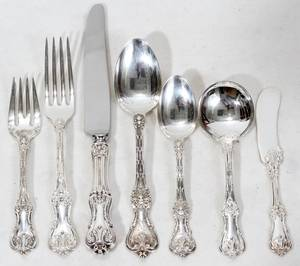 080004 FRANK SMITH SILVER CO  WHITING FLATWARE