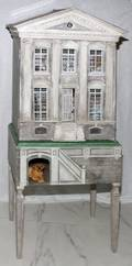 ERIC LANDSDOWN PAINTED WOOD DOLL HOUSE