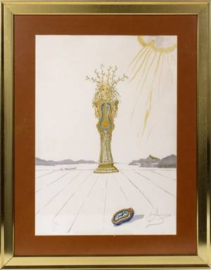 AFTER SALVADOR DALI COLOR LITHOGRAPH 1976 29