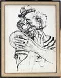 012151 NOL DAGGETT AMERICAN INK DRAWING