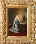 122134 LEO MALEMPRE 18601901 OIL PAINTING