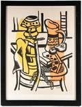 Fernand Leger La Chaise S 139 Lithograph