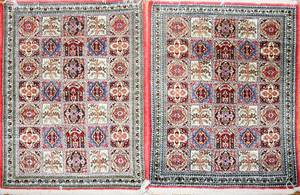 021287 GHOUM PERSIAN HANDWOVEN SILK RUGS TWO 29