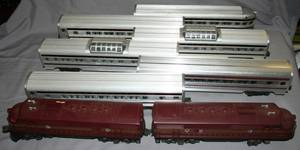 030226 LIONEL PENNSYLVANIA RR O GAUGE TRAIN SET