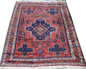 011353 PERSIAN SHIRAZ RUG 5 9 X 4 9